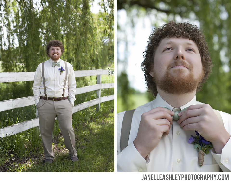 West Michigan Wedding Photographer Groom